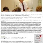 Article de presse du 27.03.2017.Blois - La hausse du soutien scolaire